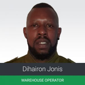 The team at KEMAT welcomes Dihairon Jonis, who joins in the role of KEMITO's Warehouse Operator.