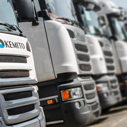 KEMAT, working together with KEMITO, are full service providers offering distribution and logistics solutions.